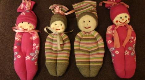 Lėlytė iš kojinės