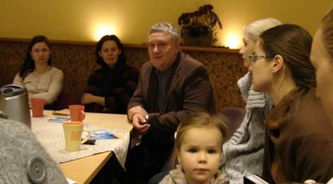 Iš susitikimo su žolininku V. Skirkevičiumi