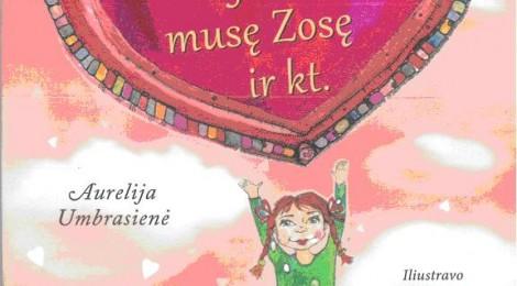"""Dar viena A.Umbrasienės knyga – """"Apie Kotryną, jos angelą, musę Zosę ir kt."""""""