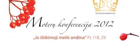 Kviečiame į moterų konferenciją