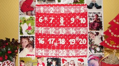 Šeimos Advento kalendorius
