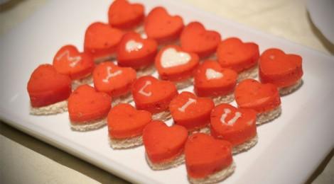 Valentino dienos vaišių vakarėlis